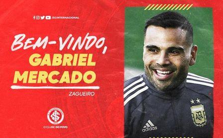 El Inter de Porto Alegre ficha a Mercado, posible escollo para la salida de Sidnei.