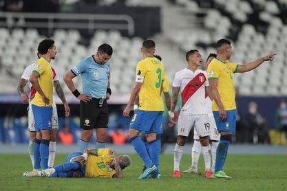 Neymar critica al árbitro Tobar y dice que quiere a Argentina en la final