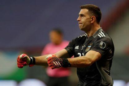 Martínez feliz de jugar la final contra Brasil en su casa