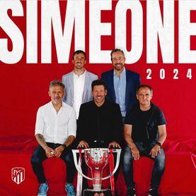 La 'era Simeone' se alarga hasta 2024