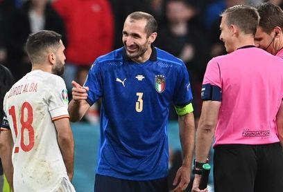 """Chiellini: """"Alba se equivocó en el sorteo y se lo hice notar bromeando"""""""