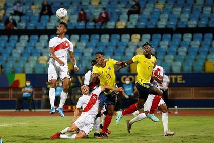 Colombia y Perú se miden por el tercer lugar de la Copa América y pensando en la eliminatorias