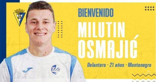 Más pólvora para el ataque del Cádiz: Osmajic, oficial.