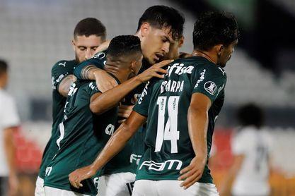 El Palmeiras gana el clásico ante el Santos y se aísla como líder en Brasil