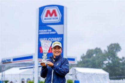 La japonesa Hataoka declarada campeona al no poderse disputar cuarta ronda