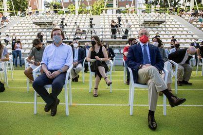 """Martínez-Almeida: """"Los Juegos Olímpicos son un sueño para Madrid"""""""