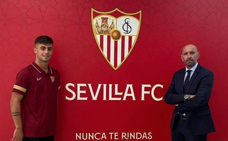 Monchi compra gol para el debut del Sevilla Atlético en la Primera RFEF