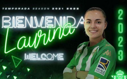 El Betis Féminas anuncia el fichaje de Laurina, su segundo refuerzo para la 21/22