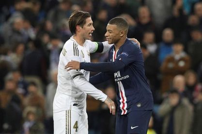 """Sergio Ramos: """"Me gustaría que Mbappé se quedara en el PSG"""""""