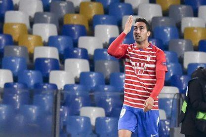 El centrocampista Ángel Montoro, positivo por coronavirus
