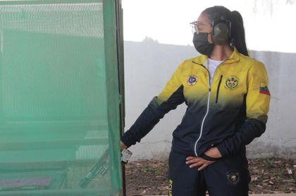 Durango, la primera militar ecuatoriana en llegar a unos Juegos Olímpicos