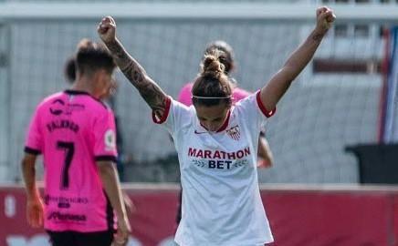 El Sevilla Femenino anuncia la renovación de Nagore Calderón
