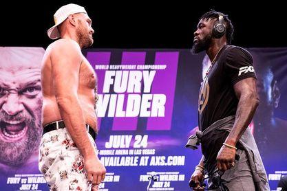 La pelea Tyson Fury-Deontay Wilder, aplazada hasta hasta octubre
