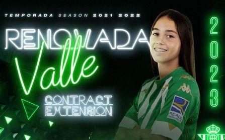 El Betis Féminas anuncia la renovación de María Valle y la salida de Emily Dolan