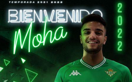 El Betis Deportivo se refuerza con Moha Sanhaji