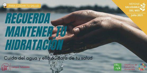 Hidratación, la clave para un verano saludable