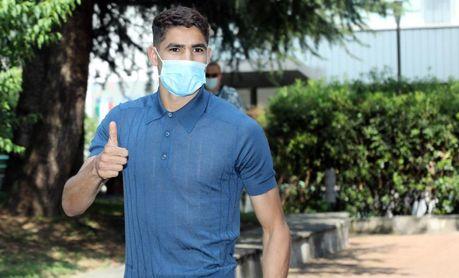 Achraf (PSG), positivo por coronavirus y aislado, según L'Equipe