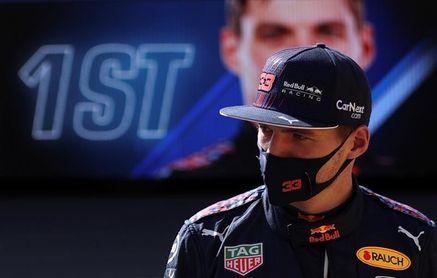 """Verstappen: """"Es curioso sumar una 'pole' así, pero la tomaremos"""""""
