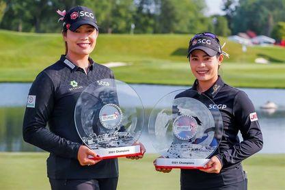 Las hermanas Ariya y Moriya Jutanugarn ganan el Down Great Lakes Bay Invitational