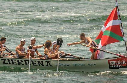 Zierbena gana en Getxo desde la segunda tanda; Santurtzi sigue líder