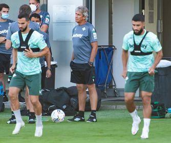 Rui Silva, Carvalho y Guardado, ya a las órdenes de Pellegrini