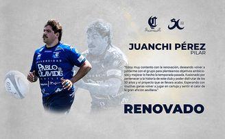 Juanchi Pérez seguirá una campaña más en el Ciencias.