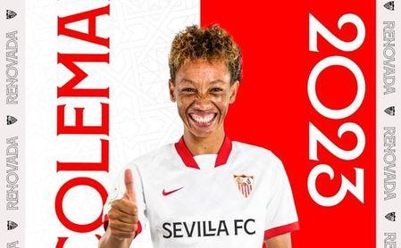 El Sevilla Femenino renueva a Zenatha Coleman, que firma dos años más