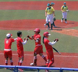 8-1. Japón vence a Australia en el inicio del sóftbol olímpico