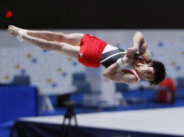 Kohei Uchimura, gimnasia en las venas