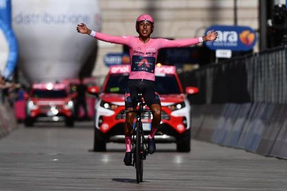 Egan Bernal confirma su presencia en la Vuelta a Burgos