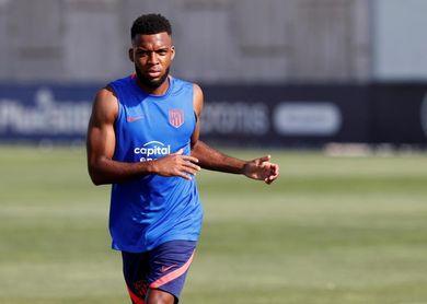 Lemar y Vrsaljko se incorporan a los entrenamientos del Atlético de Madrid