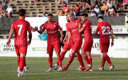 El Sevilla gana por 1-0 a Las Palmas en amistoso de pretemporada