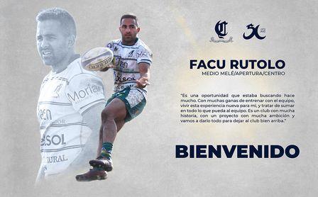 Facu Rutolo, tercer refuerzo argentino para el Rugby Ciencias