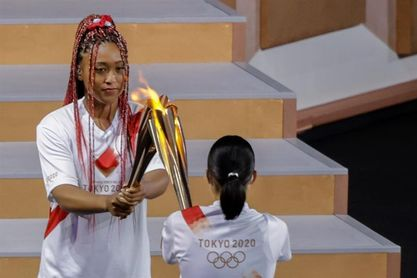 Medios nipones destacan el papel estelar de Osaka en la inauguración de JJOO