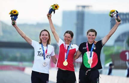 La austríaca Kiesenhofer, campeona olímpica de ciclismo en ruta doblegando el dominio neerlandés