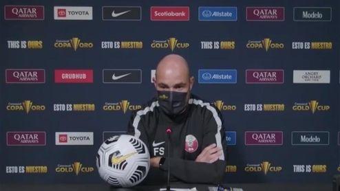 """Félix Sánchez: """"Catar ha demostrado que sabe adaptarse al fútbol Concacaf"""""""