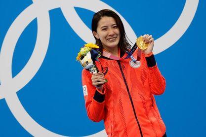 La japonesa Ohasi, oro en 400 m estilos