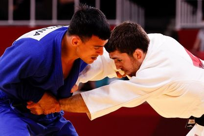 El judoca español Alberto Gaitero cae en la primera ronda