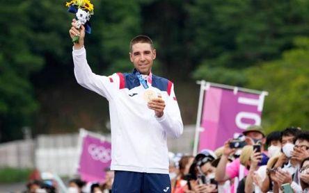 David Valero, segunda medalla, un bronce de lucha y esfuerzo