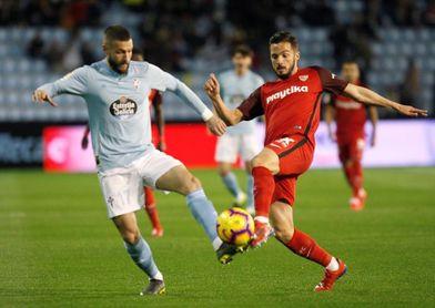 El lateral izquierdo David Juncà regresa al Girona