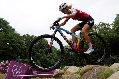 Jolanda Neff abandera un triplete suizo en bicicleta de montaña