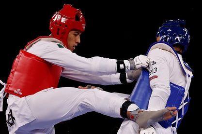 El taekwondista mexicano Carlos Sansores se despide del sueño olímpico