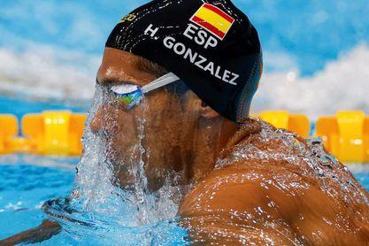 Hugo González, clasificado para las semifinales de los 200 estilos