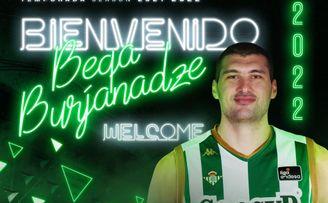 OFICIAL: Beqa Burjanadze regresa al Betis Basket