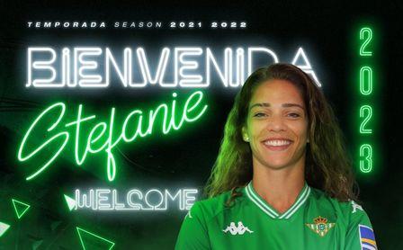 Stefanie Da Aira, nuevo fichaje del Betis Féminas