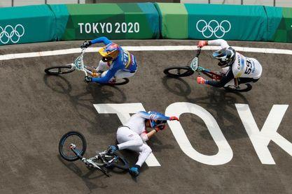 Se esfuma el sueño olímpico en BMX del ecuatoriano Alfredo Campo