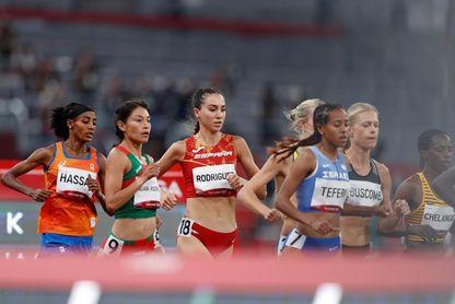 Lucía Rodríguez eliminada en los 5.000 m con récord personal