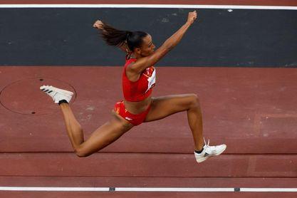 Peleteiro, tercera mujer española medallista olímpica en atletismo