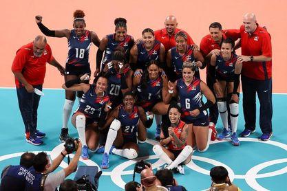 Brasil-COR y EEUU-R.Dominicana, en cuartos de final