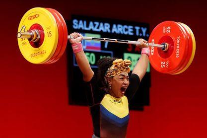 Ecuador festeja la nueva medalla en Tokio de una mujer